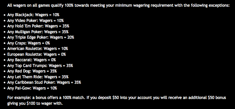 Drake Casino Bonus Clearing Requirements