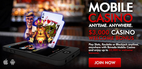 Bovada Casino Bonus Codes