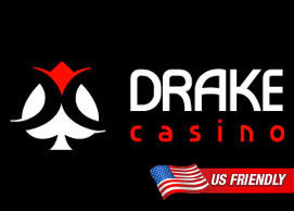 Drake Casino:  Choose a 100 Free Spin or 100% up to $1,000 Match Bonus April 11 – 12, 2015